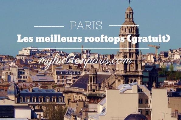 Meilleurs rooftops paris