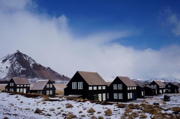 Black houses in Hellnar