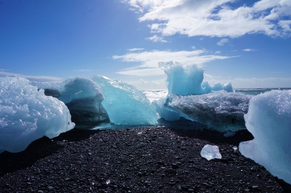 Le glacier Jökulsárlón
