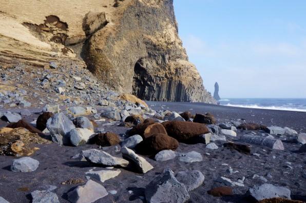 Reynisfjara beach in Vik