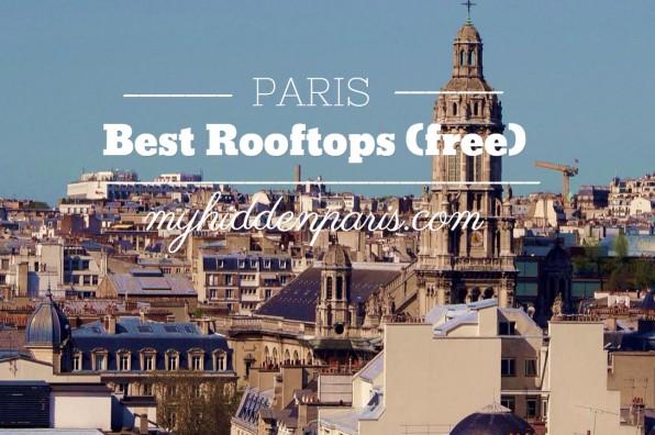 best rooftops paris