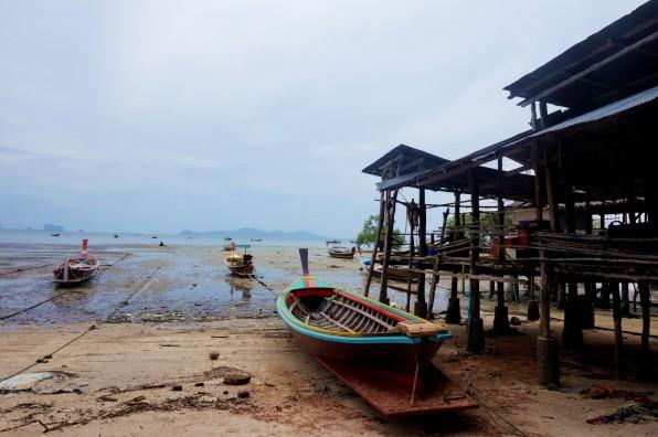 Koh Mook - Un village des pêcheurs locaux