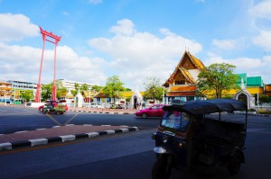 Wat Suthat and the giant swing
